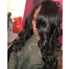 Traditional Installation with 3 bundles of Intriguing  Hair Extensions 12-24 inches in length.