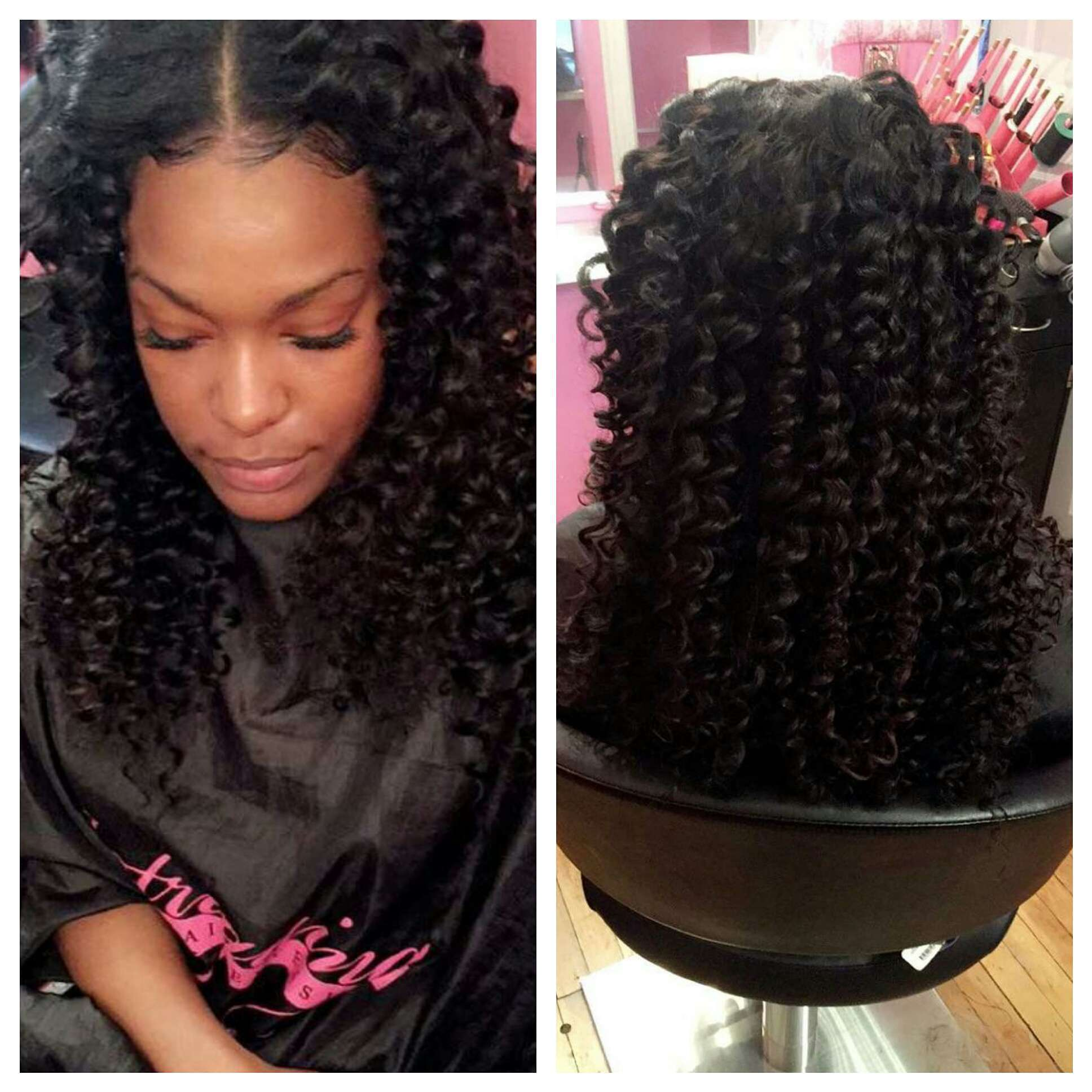 Intriguing Deep wave with traditional install
