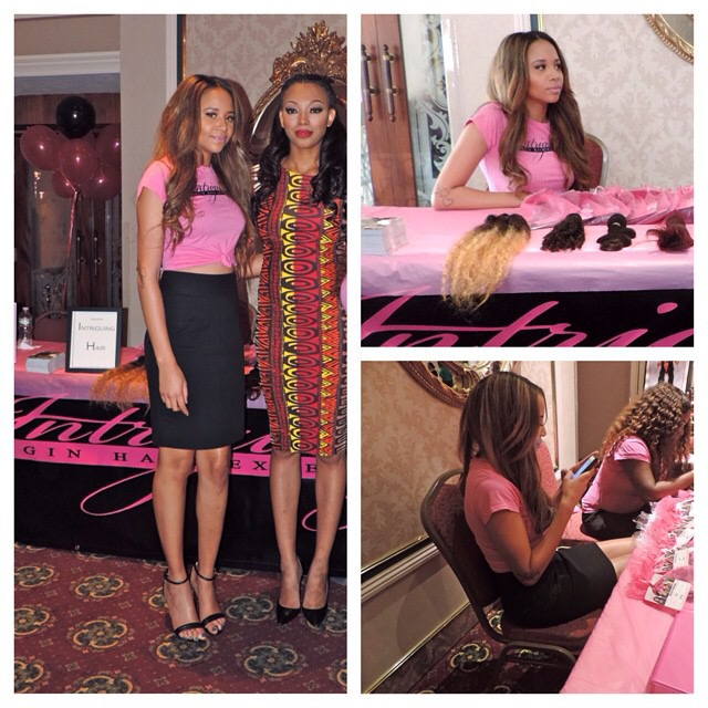 Hair Extensions Boston with Bianca Golden America's Next Top Model