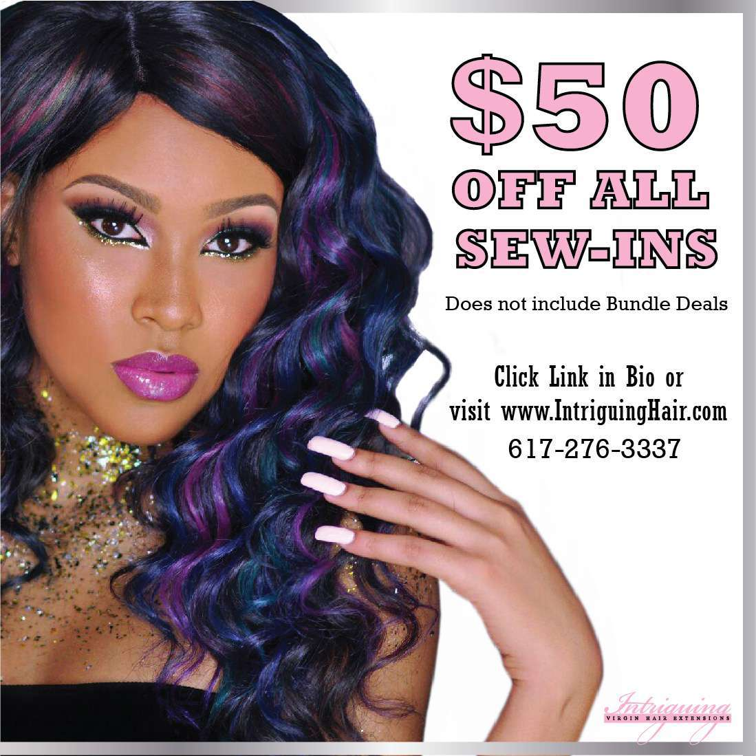 Boston weaves All Sew-ins $50 off