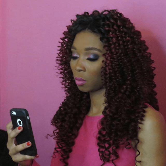 Intriguing deepwave and frontal install with wand curls